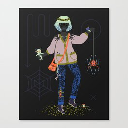 Witch Series: Voodoo Doll Canvas Print