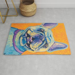 French Bulldog (includes rescue donation!) Rug