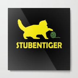 House Tiger, Cat Metal Print