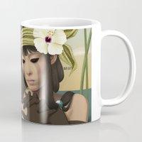 sad Mugs featuring Sad by ANVIK