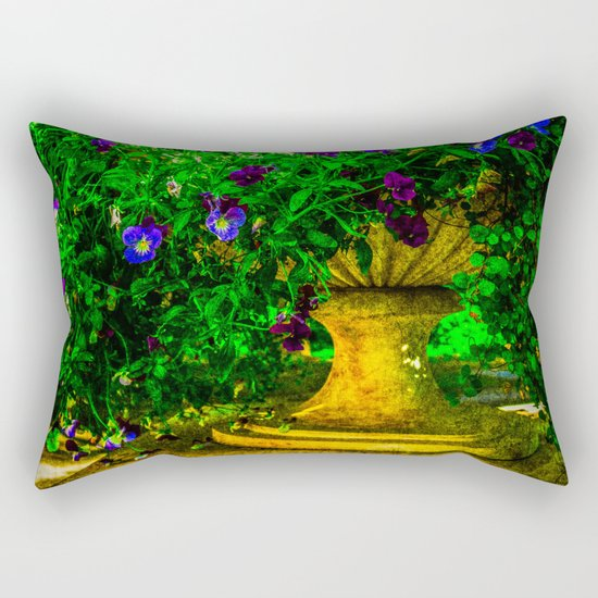 Summer Hairstyle Rectangular Pillow