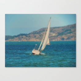 In the Bay Canvas Print