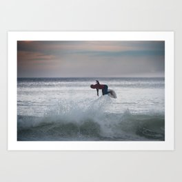 Legend & Pro Surfer Kelly Slater Art Print