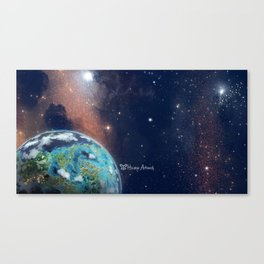 Beyond Infinity   Vacation Planet Canvas Print