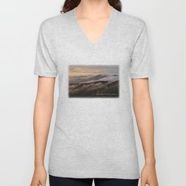 Clearing Storm, Craggy Gardens along Blue Ridge Parkway Unisex V-Neck