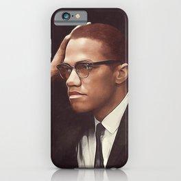 Malcom X iPhone Case
