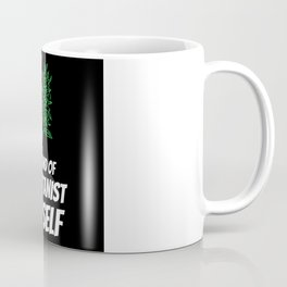 Don't panic it's organic joint cat Coffee Mug