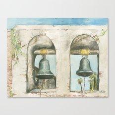 Mission Bells Canvas Print