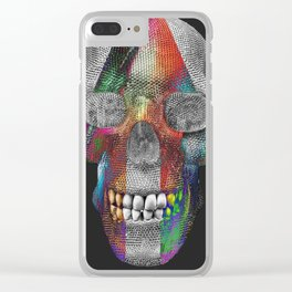 Tri Face Skelly Clear iPhone Case