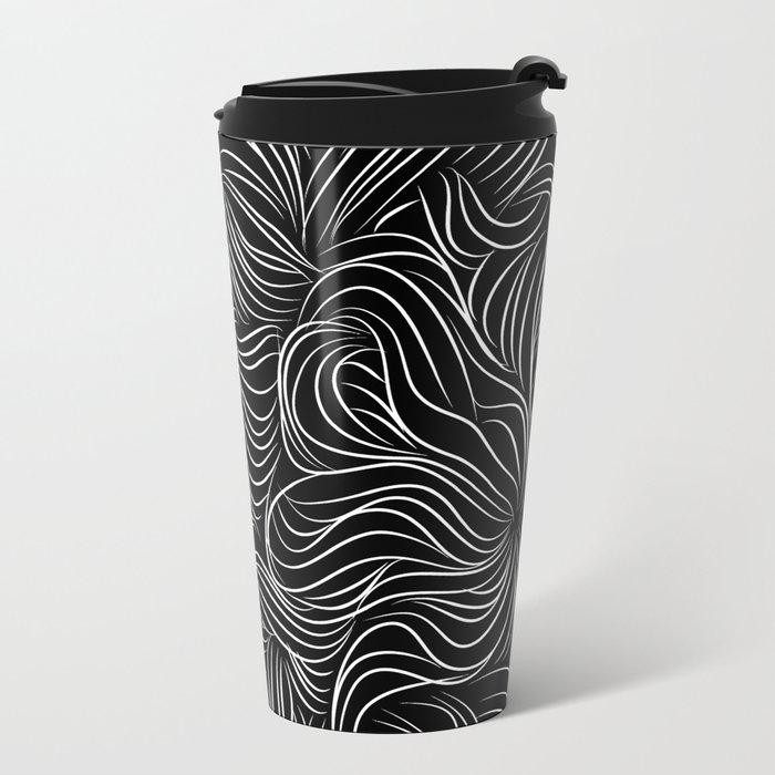 Lines view Metal Travel Mug
