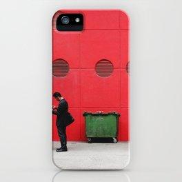 Red Hong Kong iPhone Case