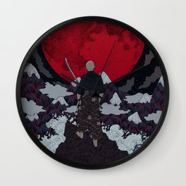 Bushido Wall Clock