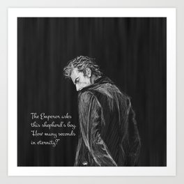 Twelfth Doctor Art Prints Society6