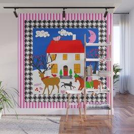 Home Sweet Home Wall Mural