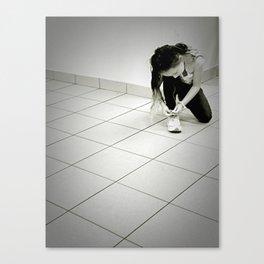Shoe Laces Canvas Print