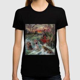 Where the wild things die T-shirt