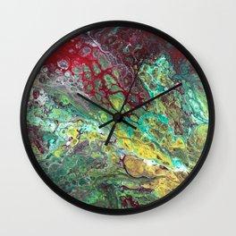 Tears of Jamila 12 x 12 Acrylic On Canvas Wall Clock