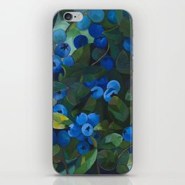 A Blueberry View iPhone Skin