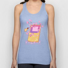 Kawaii Gameboy Color Unisex Tank Top