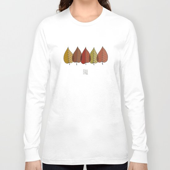 Fall Colours Long Sleeve T-shirt