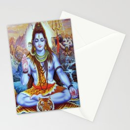 Shiva - Energize your day with his power Stationery Cards