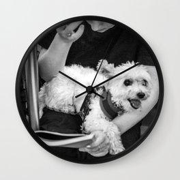 Girl & Dog Wall Clock