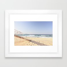 Beach Time  Framed Art Print