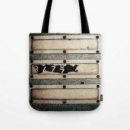 Industrial Numbers Tote Bag