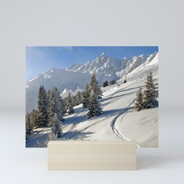 Courchevel 3 Valleys French Alps France Mini Art Print