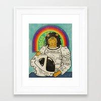 ripley Framed Art Prints featuring Ripley by Derek Eads