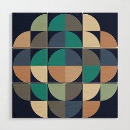 Gestalt Geometric Wood Wall Art