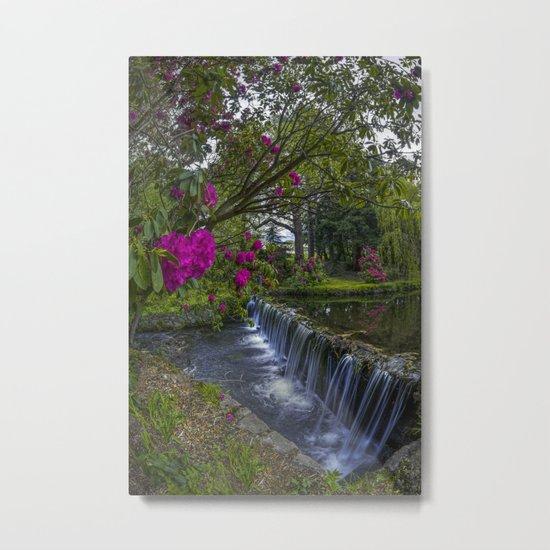 Flower Creek Metal Print