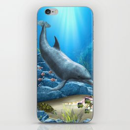 The World Of The Dolphin iPhone Skin