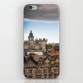 View of Edinburgh architecture from Victoria Street iPhone Skin