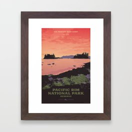Pacific Rim National Park Reserve Framed Art Print