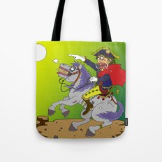 Napoleon goes rampage Tote Bag