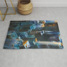 Dreams of Cyber Cities Rug