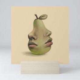 Pear Lips Mini Art Print