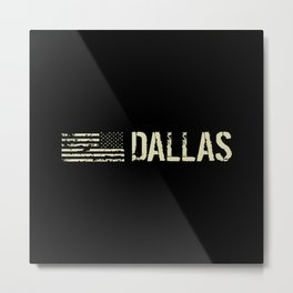 Black Flag: Dallas Metal Print