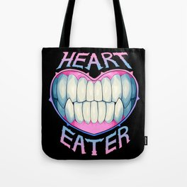 heart eater Tote Bag