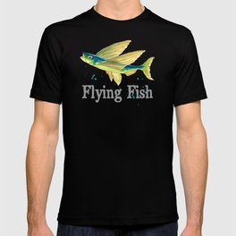 F is for Flying Fish T-shirt