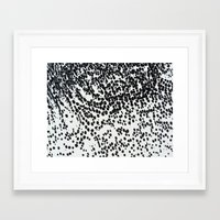 polka Framed Art Prints featuring :Polka by blair__berger