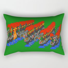 Roosters of Barcelos Rectangular Pillow