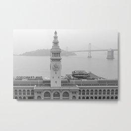 Places: San Francisco Ferry Building Metal Print
