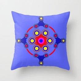 Fidget Spinner Design version 4 Throw Pillow