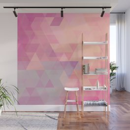 All About The Triangles Wall Mural
