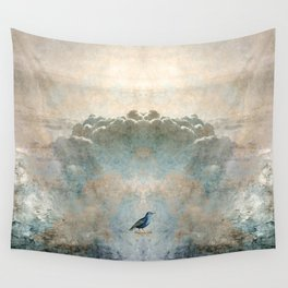 HEAVENLY BIRD SCENE NO3 Wall Tapestry