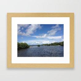 Florida keys  Framed Art Print