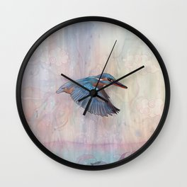 Terror From Above Wall Clock