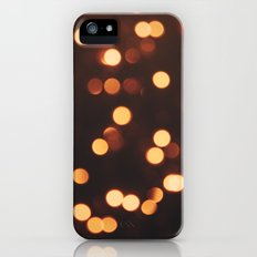 Christmas Lights II Slim Case iPhone (5, 5s)